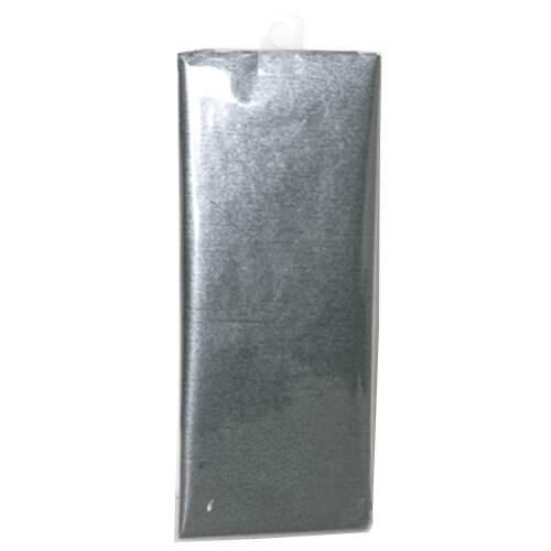 JAM Paper Shimmer Tissue Paper - Pewter Graphite Grey Silver Shimmer Metallic - 3 Sheets/pack
