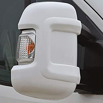 FIAT DUCATO PEUGEOT BOXER CITROEN RELAY DOOR WING MIRROR CASING COVER LEFT RIGHT
