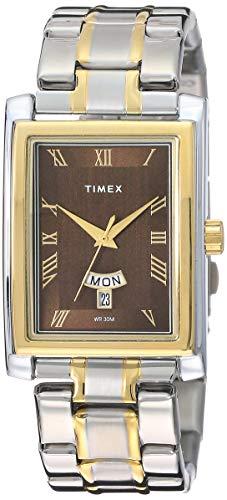 Timex Analog Brown Dial Men #39;s Watch   TW000U307