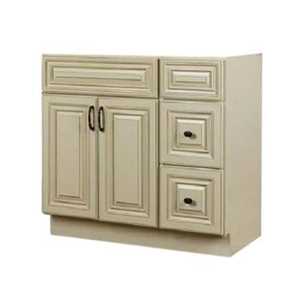 JSI Wheaton Bathroom Vanity Base Solid Wood 42\