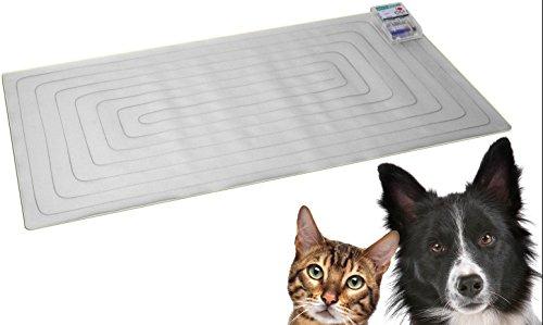 CatMat - Die Katzenschreck Matte zum Fernhalten von Katzen und anderen Tieren von Bereichen und Räumen - Katzenabwehr Katzenvergrämung Katzenvergrämer Vergrämer Fernhaltespray Fernhaltemittel Tierschreck