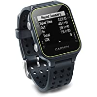 Garmin Approach S20, GPS Golf Watch with Step Tracking, Preloaded Courses, Slate