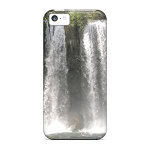 Hot Tpu Cover Case For Iphone/ 5c Case Cover Skin - Free Fall