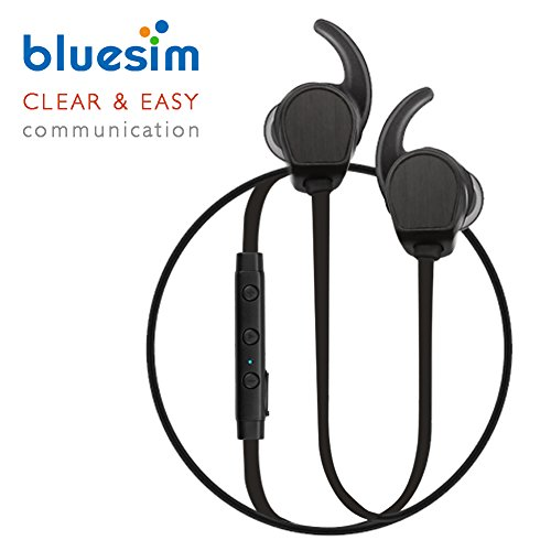 Bluesim Bluetooth Headphones with Microphone - 4.1 Wireless Bluetooth Earbuds for Running, Super Magnetic Neckband Earphones Noise Cancelling Bluetooth Headphones by Bluesim (Image #7)