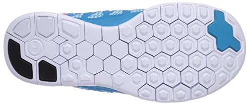 Nike Free 5.0, Girls' Running Shoes Blue (Blue Lagoon/Pink Pow-white-vlt)