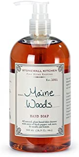 product image for Stonewall Kitchen Maine Woods Hand Soap, 16.9 Ounce