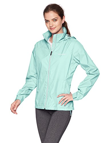 Columbia Women's Switchback III Adjustable Waterproof Rain Jacket, Wind X-Large