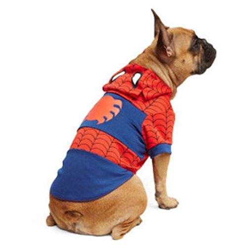 [Marvel Spiderman Dog Costume (X-Small)] (Easy Marvel Costumes)
