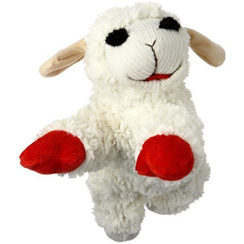 Multipet brand Lamb Chop 10 inches , Plush in White