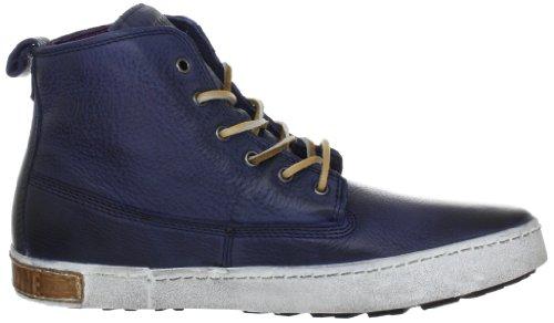 Blackstone 6 Inch Worker On Foxing, Sneaker Uomo Blu (Blau (Indigo))