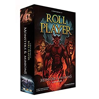 Thunderworks Games Roll Player: Monsters and Minions Strategy Boxed Board Game Expansion Ages 12 & Up