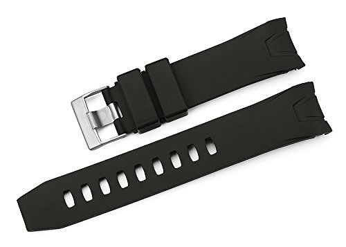 iStrap 22mm Rubber Curved end Watch Band for Omega Seamaster Planet Ocean - -