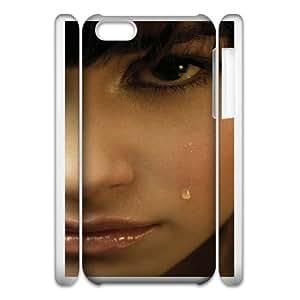iphone5c Phone Case White Demi Lovato WQ5RT7441472