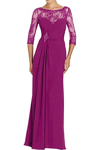 TOSKANA BRAUT -  Vestito  - linea ad a - Donna Pink 38