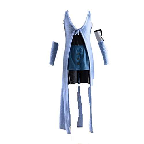 Final Fantasy 8 Rinoa Costume (Final Fantasy VIII Rinoa Heartilly Dress cosplay costume)