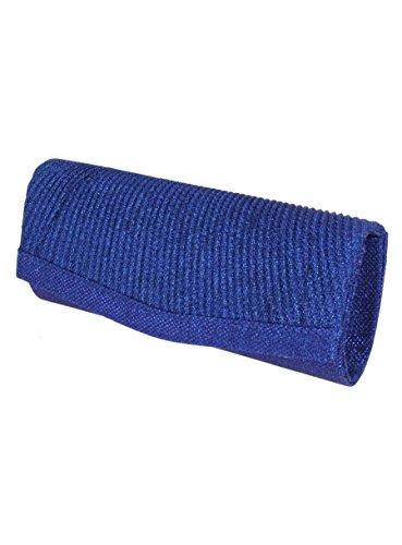 Boutique-Magique - Cartera de mano para mujer Azul - Bleu roy