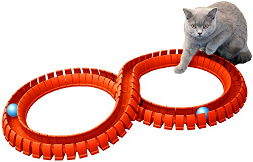 - Magic Cat Flexible Track and Ball Set (Orange Tracks & Blue Balls)