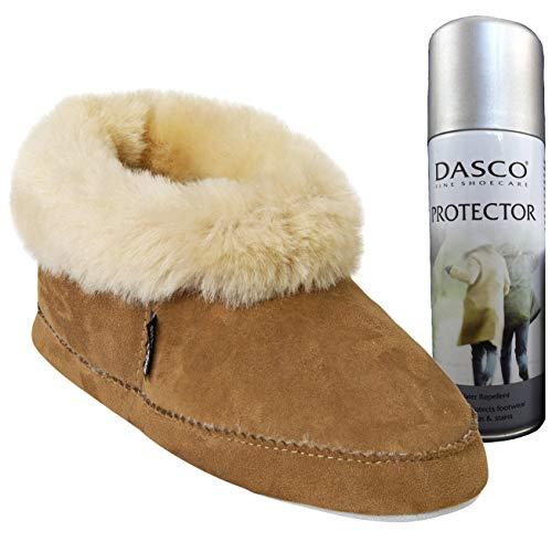 Chestnut Slipper 924 Sheepskin Spray Bootee Free Style Protector Includes Emmy Dasco Shepherd 56 qnYERwE