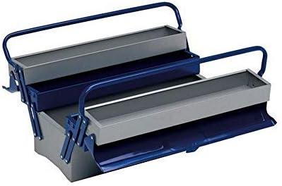 Alyco 192735 - Caja de herramientas metalica de 5 bandejas 500 x 200 x 240 mm: Amazon.es: Hogar