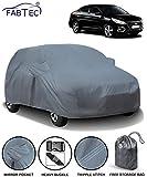Fabtec Car Body Cover for Hyundai Verna 2018 with Mirror Pocket Storage Bag (Heavy Duty)
