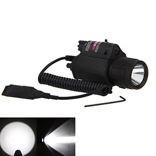 Picatinny Flashlight Glock Laser Sights, P08 180 Lumen Weapo