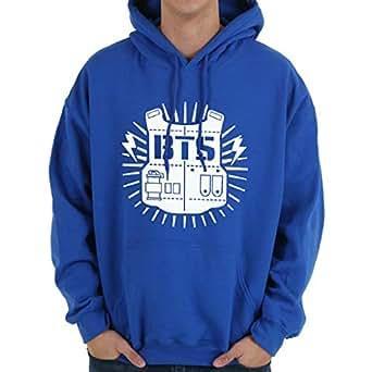 BTS Royal Blue Round Neck Hoodie & Sweatshirt For Unisex