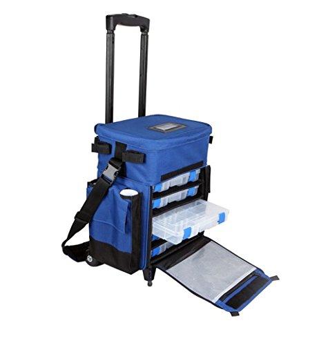 Okuma Nomad Tackle Roller Bag ANT-TRS-M (Boat Charter Rod)