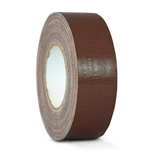 WOD CDT-36 Advanced Strength Industrial Grade Dark Brown Duct Tape, Waterproof, UV Resistant For Crafts & Home Improvement (Available in Multiple Sizes & Colors): 1 in. x 60 yds. (Pack of 1) -