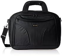 Travel Blue  Sleek Top Loading 14 Inch Laptop Bag, Black, One Size