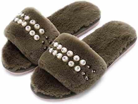 5c371bf79b762 Shopping N - Brown - Slide - Slippers - Shoes - Women - Clothing ...