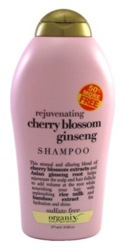 (OGX) Organix Shampooing Cherry Blossom Ginseng 19,5 oz Bonus