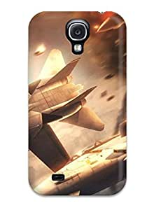 Galaxy S4 Hard Back With Bumper Silicone Gel Tpu Case Cover Ace Combat 5 The Unsung War