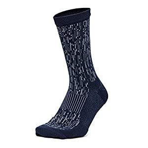 Lululemon Men's Train to Conquer Sock (True Navy/Utility Blue, M/L)