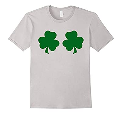 Irish Shamrock Boobs Funny St. Paddy's Day T-shirt