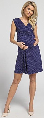 Puntini Prémaman Abito Estivo L'allattamento Mama Marina Donna Con per Elegante 256p Happy Vestito q1p7Bntt
