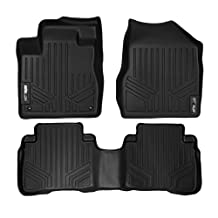 Maxliner MAXFLOORMAT Two Row Set Custom Fit All Weather Floor Mats For Select Nissan Murano Models - (Black) by MAXLINER