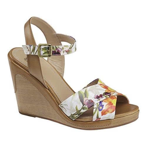Print Wedge amp; Johnston Maren Murphy Floral Sandal Women's wB0q6g