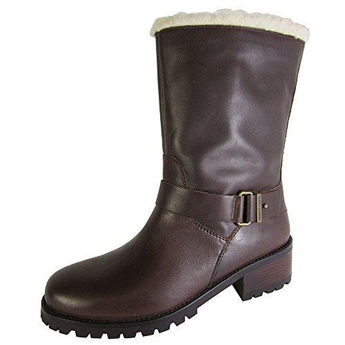 Cole Haan Women's Champlain Waterproof Boot, Brown, Size 5.0