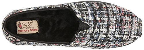 Bobs De Skechers Bliss Slip-Flat on Fashion - Black/Multi Woven
