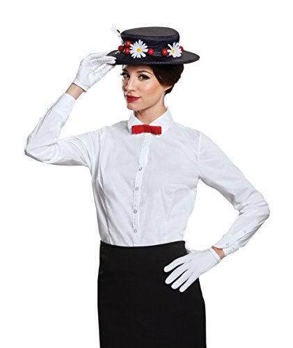 Disguise Women's Mary Poppins Accessory Kit Costume, Black, One Size Adult for $<!--$24.95-->