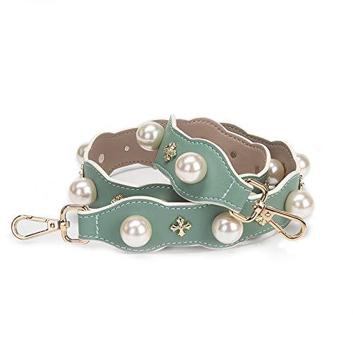 color verde de Correa perla celeste para sintética cm x bolso de 90 4 mano piel TSHOME azul 7gxHqx