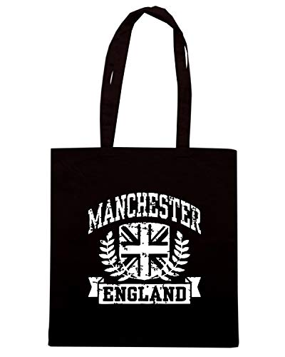 Speed Shirt Borsa Shopper Nera TSTEM0188 MANCHESTER ENGLAND (3)