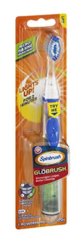 Arm & Hammer Spinbrush Globrush Soft Powered Toothbrush