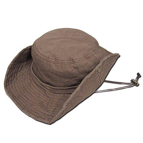 延ばす窓ヘッジ帽子 ビッグサイズ62センチ大きいサイズ 帽子スクエアリング アドベンチャーハット