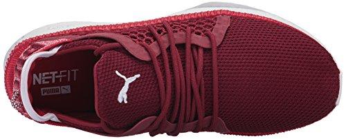 Sneaker Tsugi Netfit da uomo, Toreador-Tibetano Rosso-Puma Bianco, 11 M US