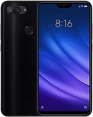 TBOC Funda de Gel TPU Negra para Xiaomi Mi 8 Lite - Mi8 Lite (6.26