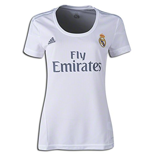 d5082d1810db6 Amazon.com: Adidas Real Madrid CF Home Womens Jersey-WHITE: Sports ...