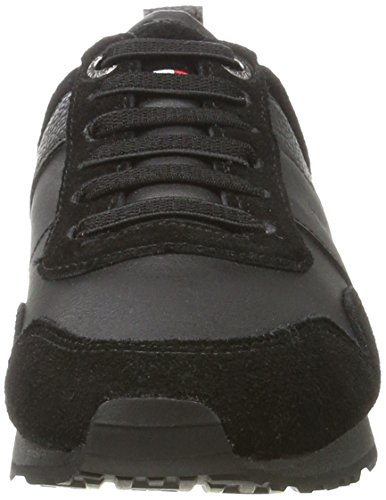 Tommy Hilfiger M3285axwell Jr 11c1, Zapatillas Para Niños Negro (Black)