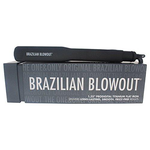 Brazilian Blowout 1.25 Titanium Prodigital Flat Iron by Brazilian Blowout by Brazilian Blowout