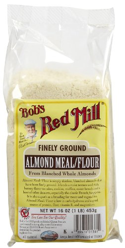 Bob's Red Mill Almond Meal/Flour, 16-Ounce Packages (Pack of 4) ( Value Bulk Multi-pack) by Bob's Red Mill